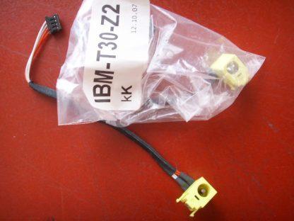 IBM T30 Z2 kK 12 10 07 DC port hanress for IBM T30