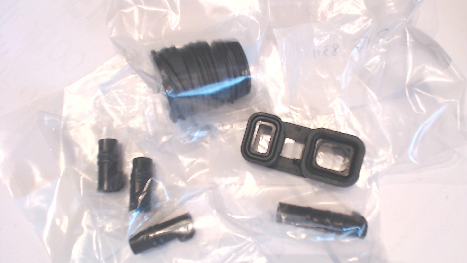 AUTOKAY New 4PCS 6HP19 6HP21 Valve Body to Case Sleeve Seal Kit for BMW